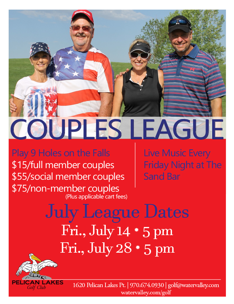 Pelican lakes couples league water valley for Best mountain towns to raise a family